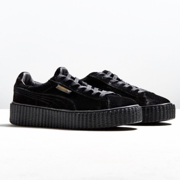 buy popular dfa40 351d5 HP Men's Velvet PUMA Creepers FENTY collab